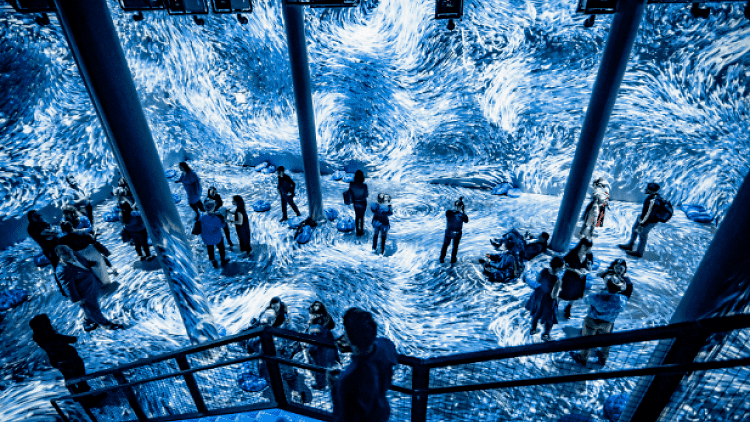 Submerge Immersive Installation – NY
