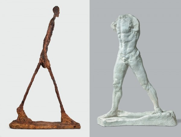 Rodin and Giacometti – Until Aug 23
