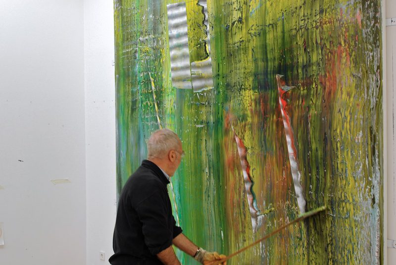 Gerhard Richter - Cage Paintings