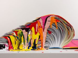 "Richard Jackson ""works with books"""