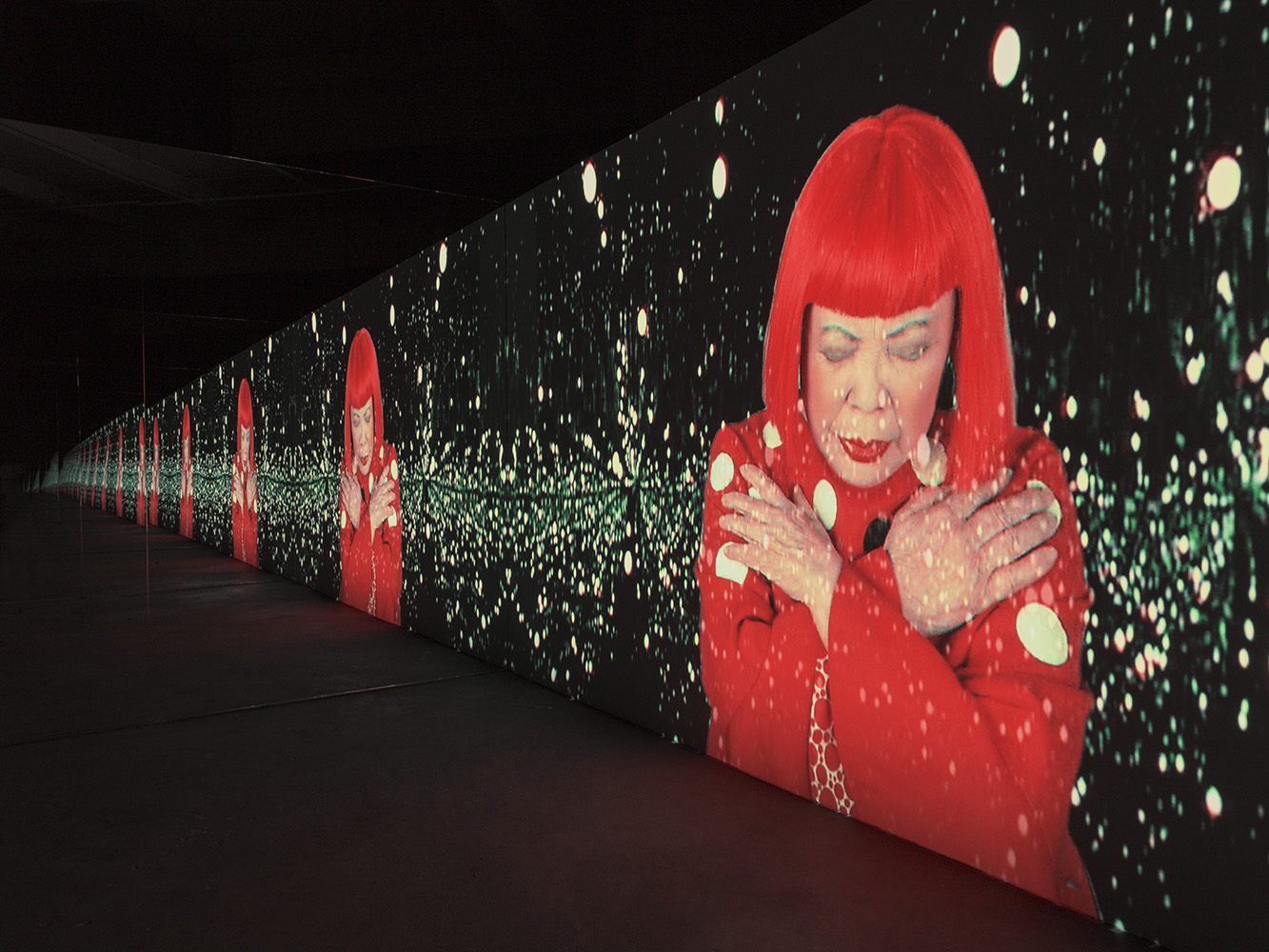 Yayoi Kusama: the vision of fantasy we have never seen in this splendor