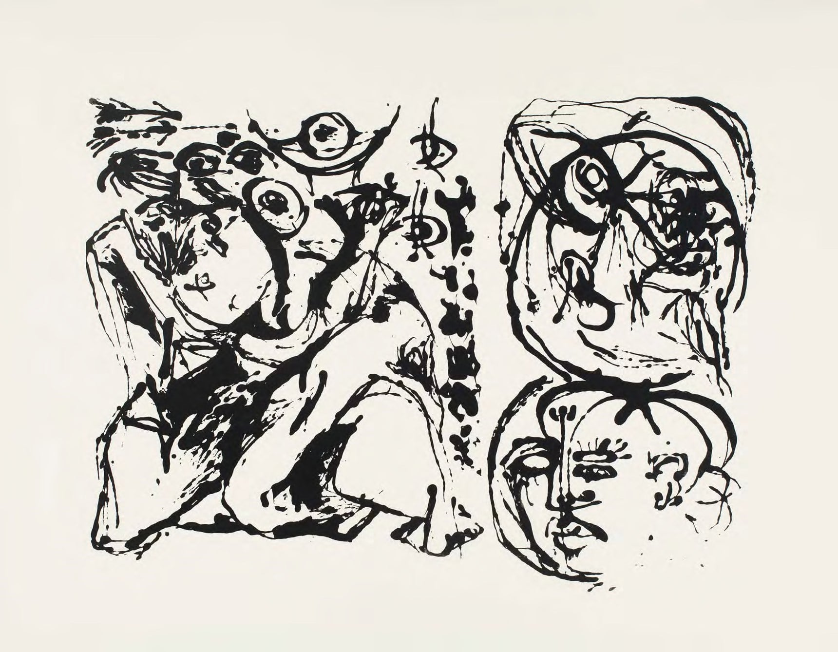 Jackson Pollock: Experimental Work on Paper