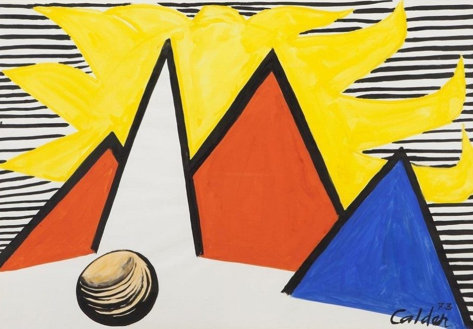 Alexander Calder - Great Yellow Sun