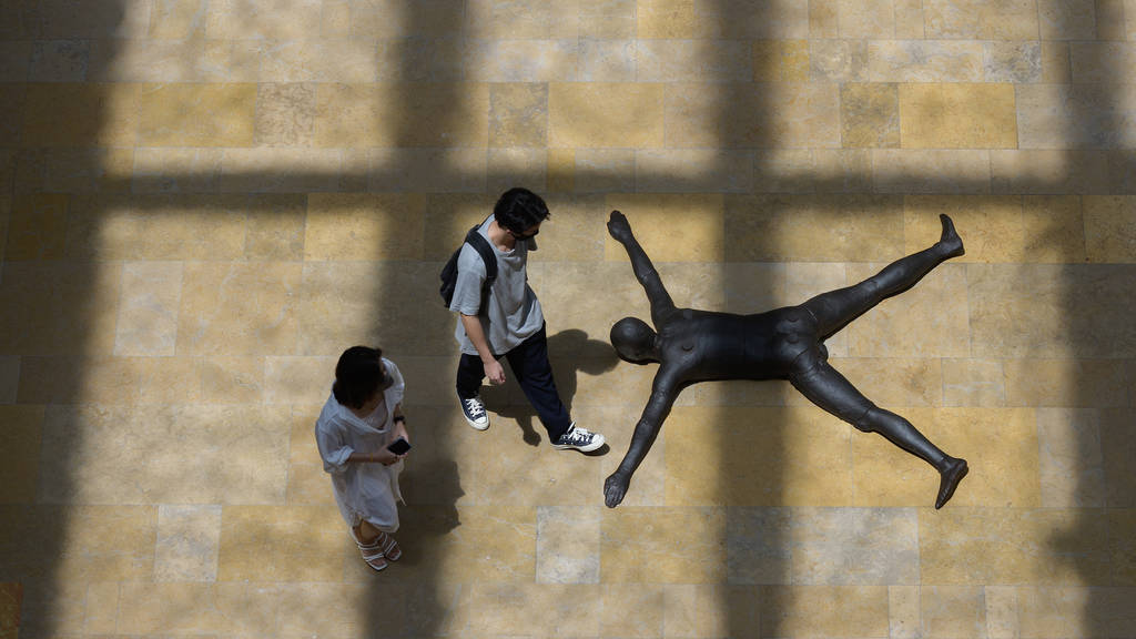 Antony Gormley at the National Gallery of Singapore
