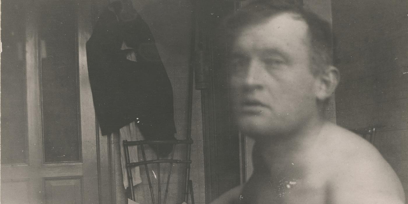 Edvard Munch Experimental Selfies (Photographs)