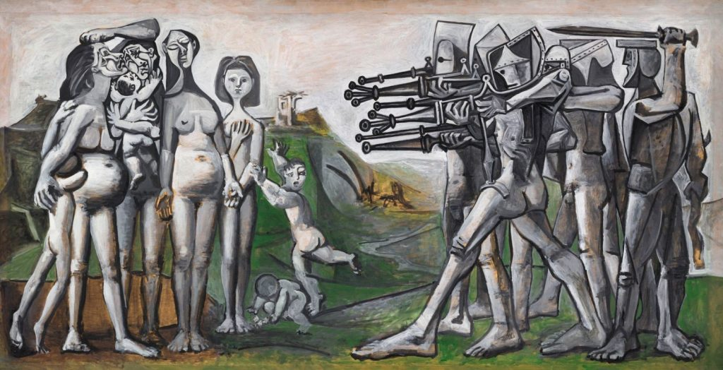 Picasso and his image in East and West Germany