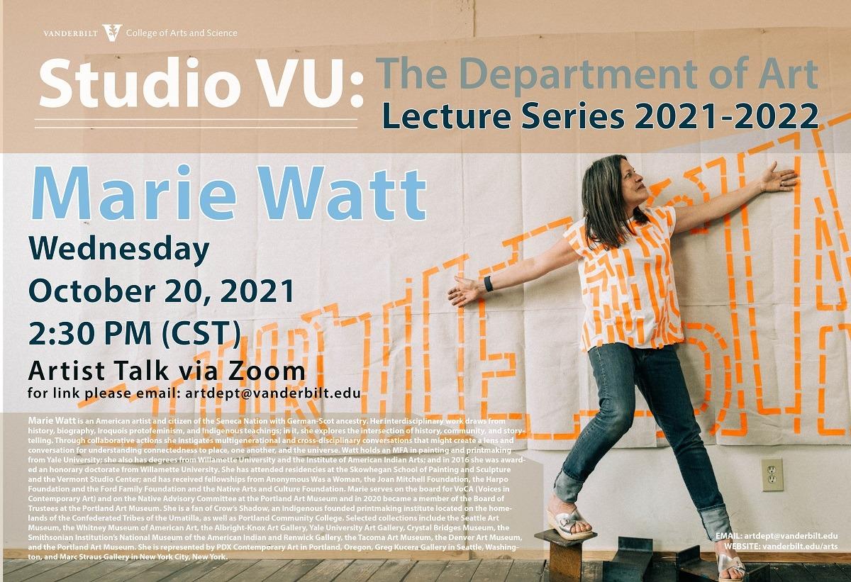 The studio vu lectures series 2021-2022